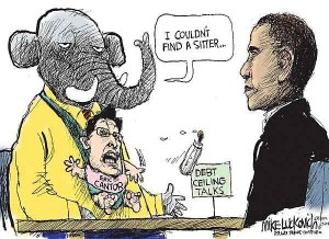 Lukovich on Obama v Cantor on Debt Ceiling